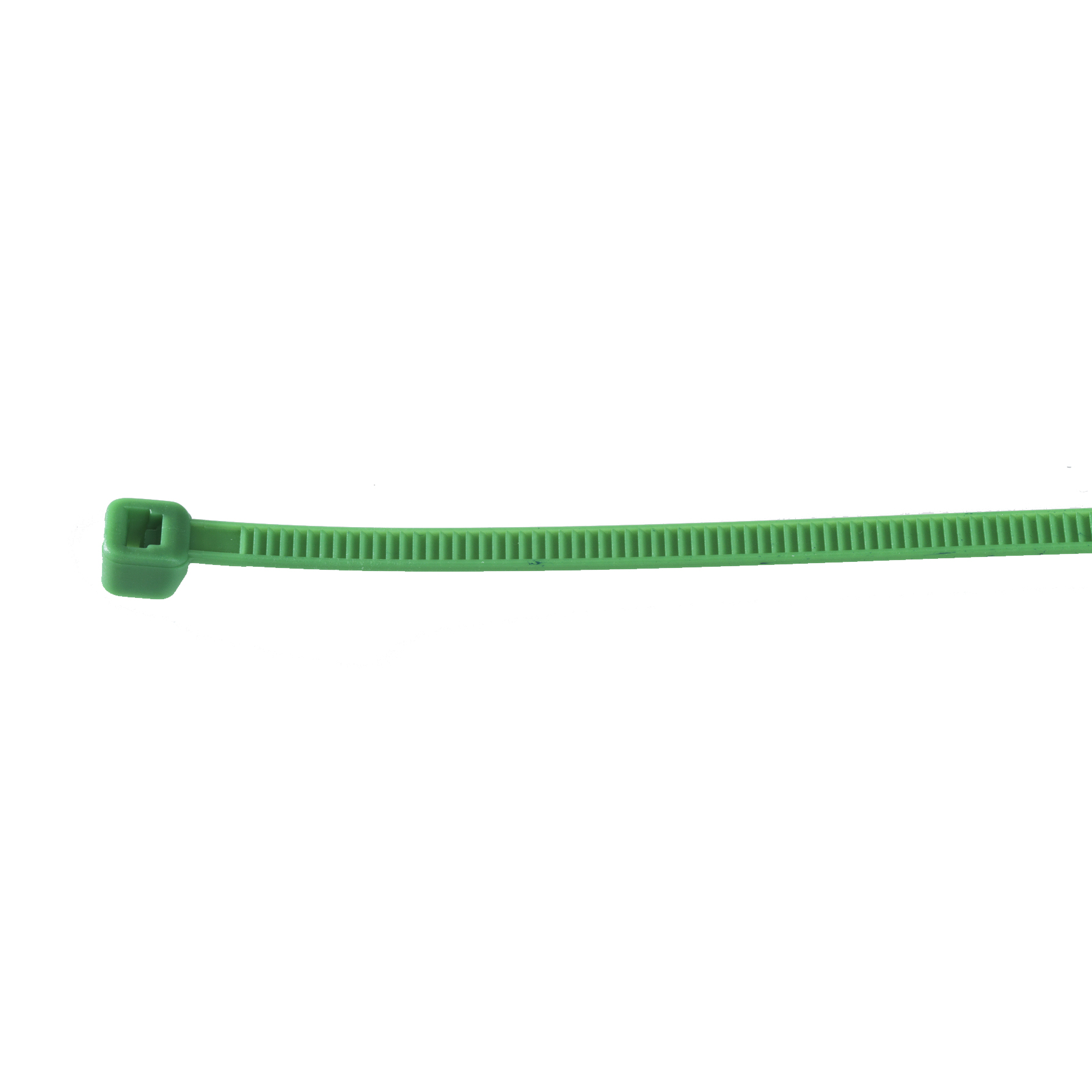 Large, Green Cable Tie Image