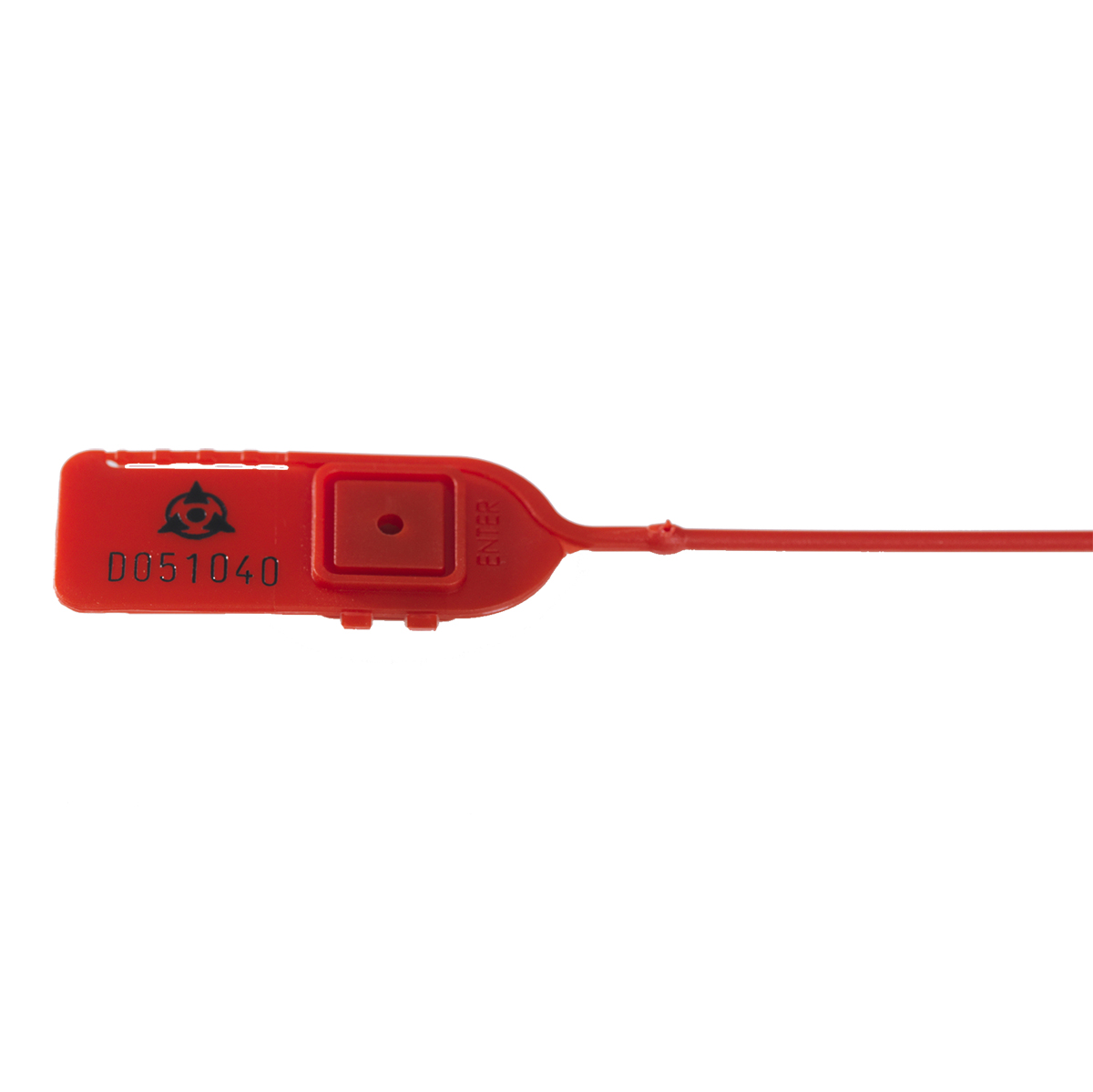 Numbered Red Cable Tie  Image