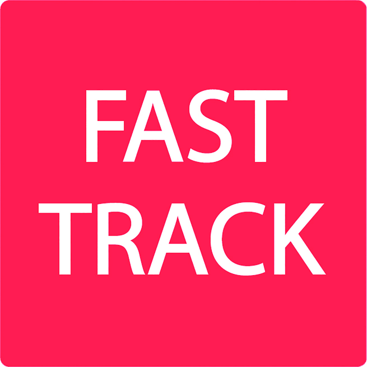 Fast Track Alert Label  Image