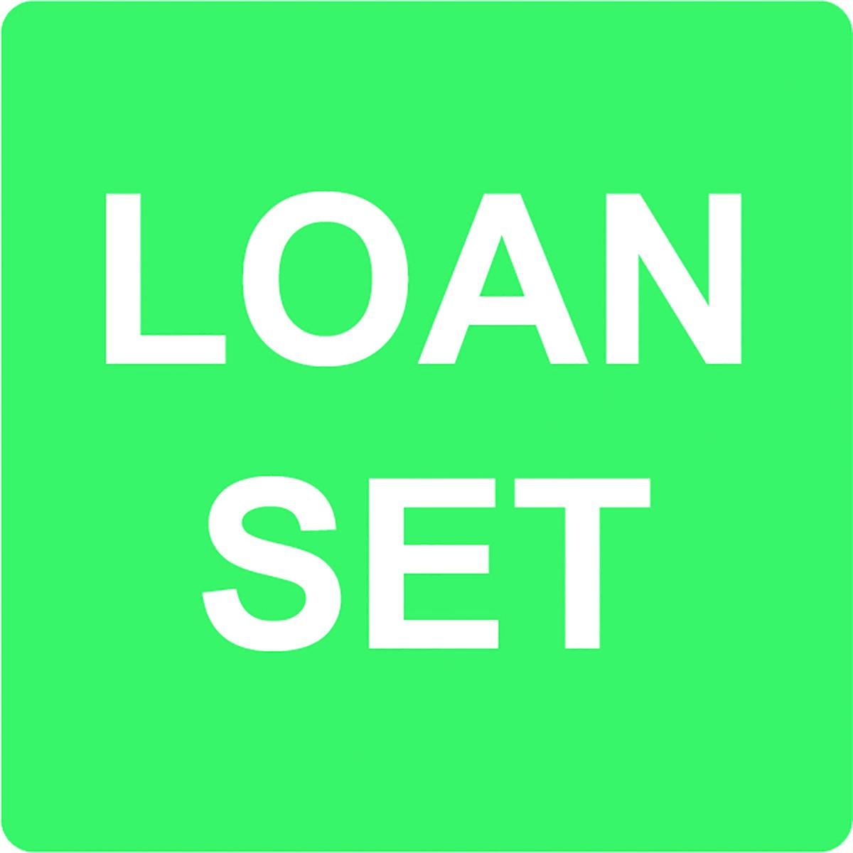 Loan Set Alert Label  Image